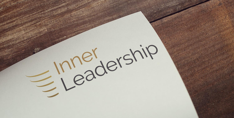 Inner Leadership - Logo Design op witte achtergrond