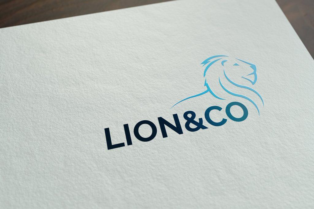 Leeuw elegant logo