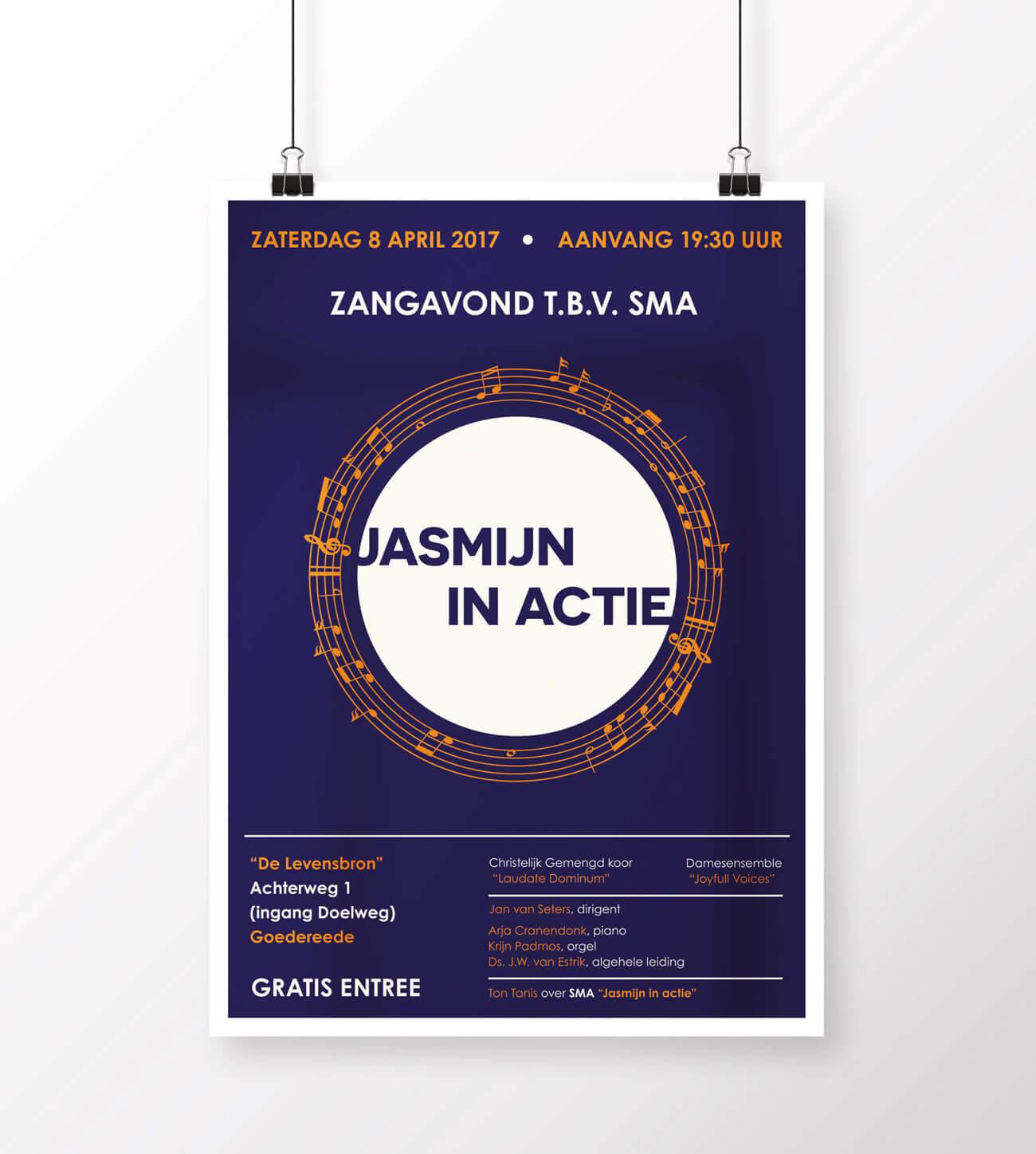 Joyfull Voices - Poster voor concert