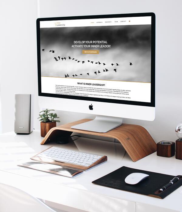 Wordpress Website Inner Leadership - Homepage