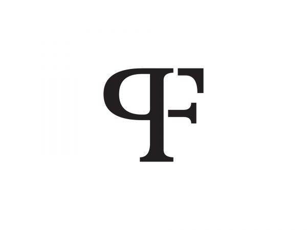 PF logo monogram
