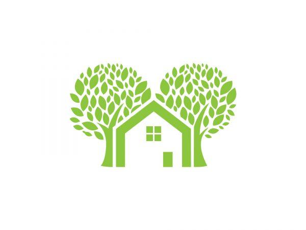 ecohouse ecologisch logo beeldmerk