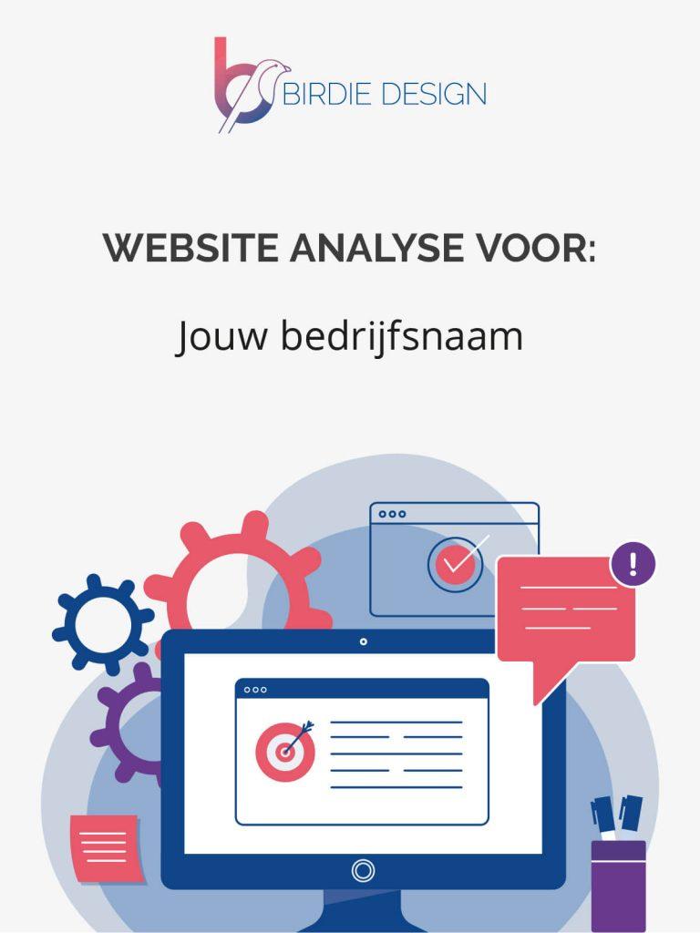 gratis website analyse - gratis en vrijblijvend website advies