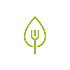 dietist modern logo ontwerp