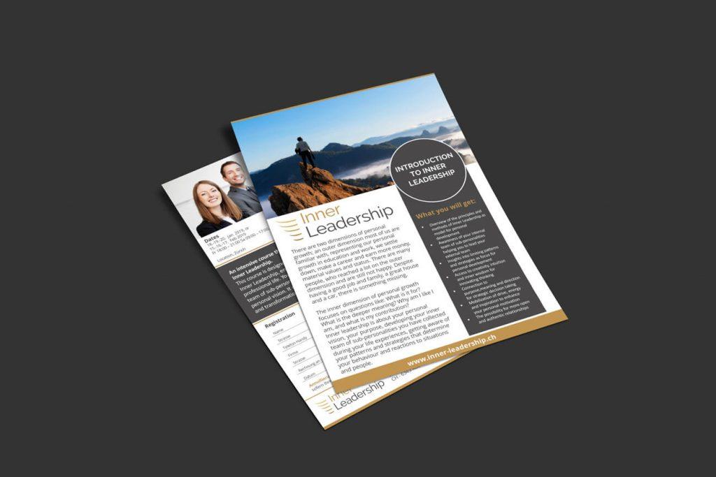 Inner Leadership Flyer design
