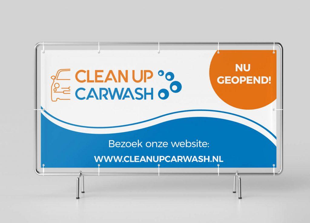 Carwash signage