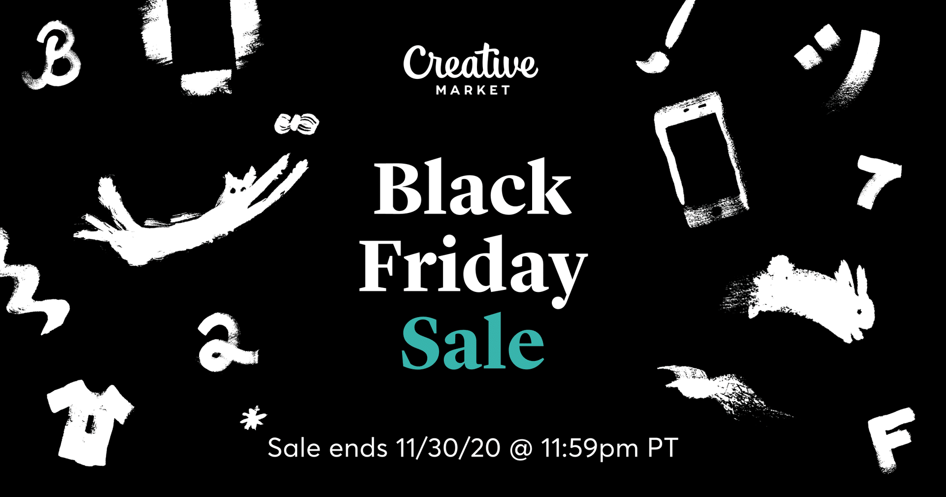 creative market black friday korting