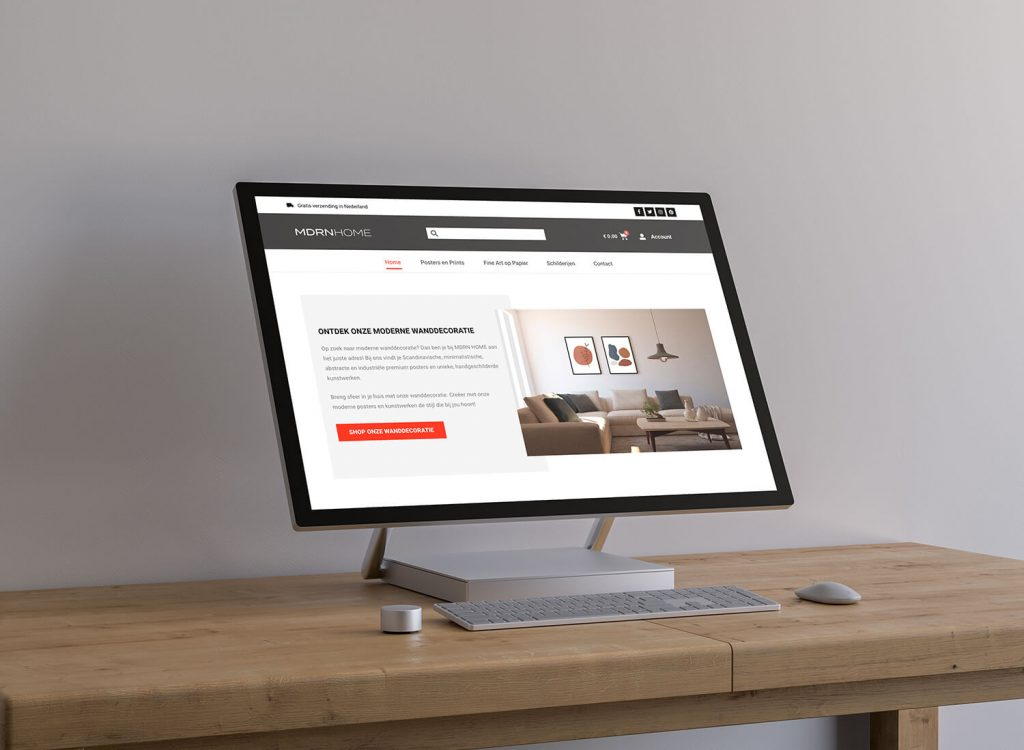 webshop redesign with Astra and Elementor Pro