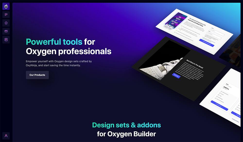 kleurverloop website design trend in 2021